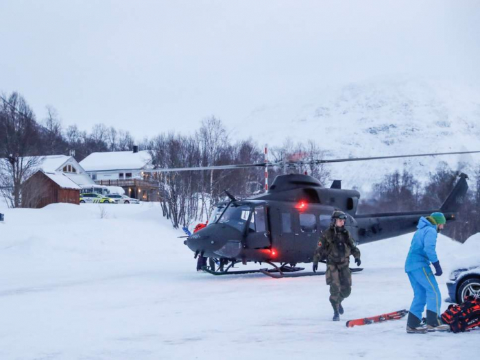 Four skiers feared dead in Norwegian avalanche