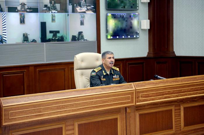 Azerbaijani army must be ready for military operations at any time, says Zakir Hasanov