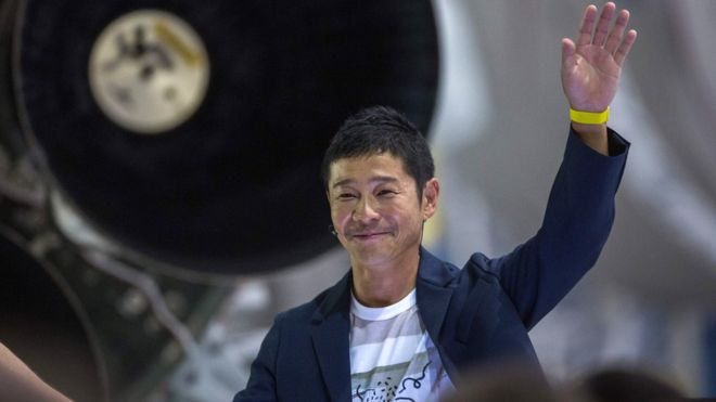 Yusaku Maezawa: Japanese billionaire tweets most retweeted  tweet