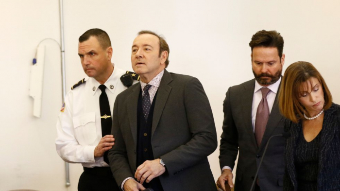 Kevin Spacey pleads not guilty to sexually assaulting teenager in bar