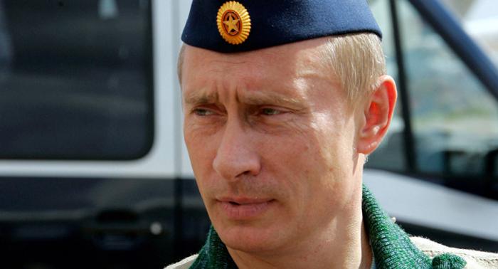 Putin revela su rango militar