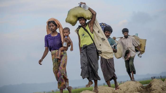 Over 4,500 displaced in Myanmar's Rakhine state