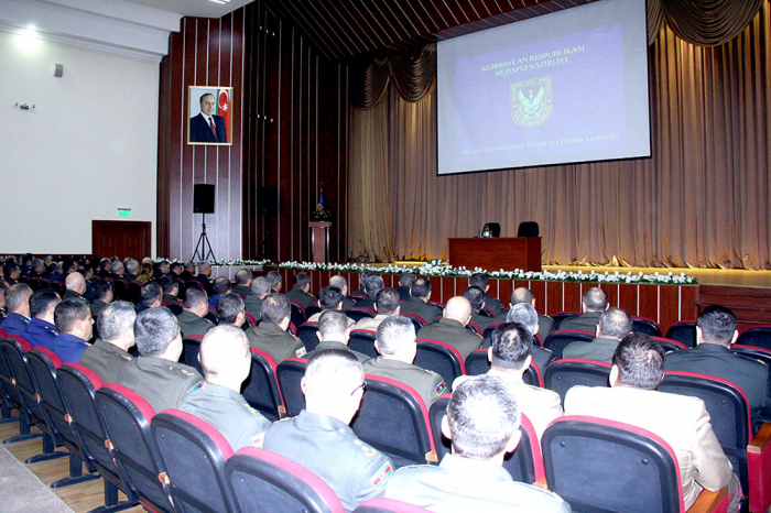 Training and Education Center of Azerbaijani Armed Forces hosts meeting