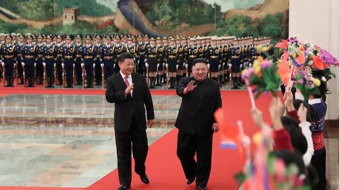 """Xi sieht """"seltene historische Chance"""" für Einigung in Korea"""