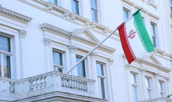 İranın səfirliyi daşa basılıb-