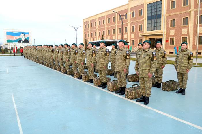 Las fuerzas de paz de Azerbaiyán regresan de Afganistán-   FOTO