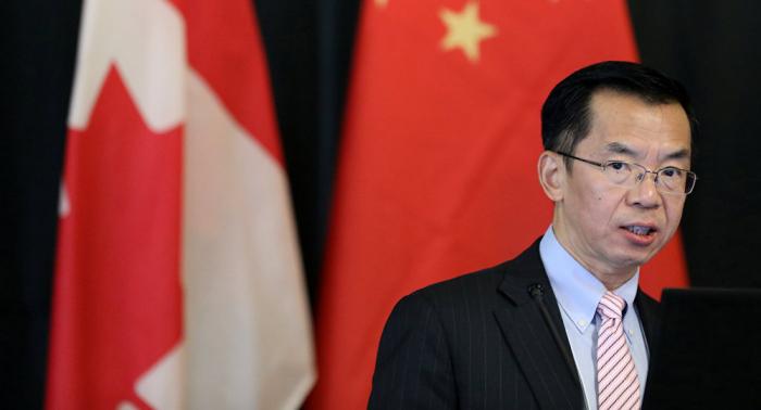El embajador de China critica la reacción a la detención de dos canadienses