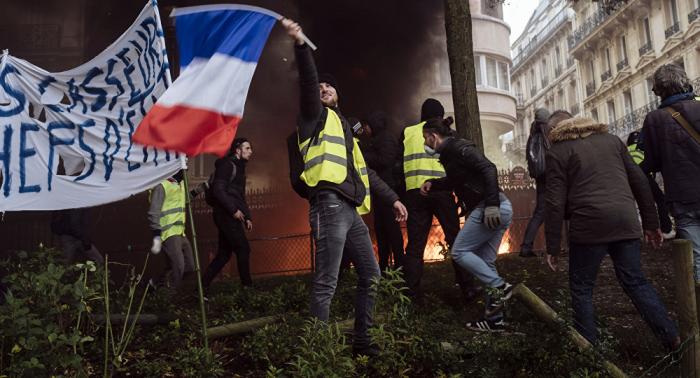 Französische Regierung plant Strafen für nicht genehmigte Protestaktionen