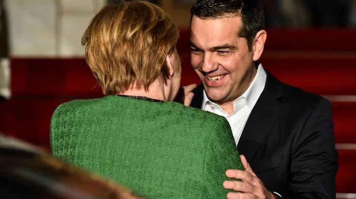 Merkel will in Athen Schlussstrich ziehen