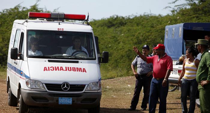Varios muertos al volcar un autobús con extranjeros en Guantánamo