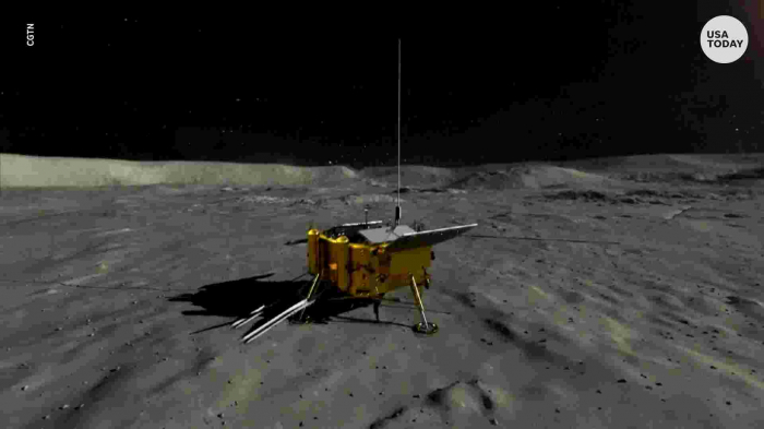 China broadcasts never-before-seen pictures of the far side of the Moon-  VIDEO