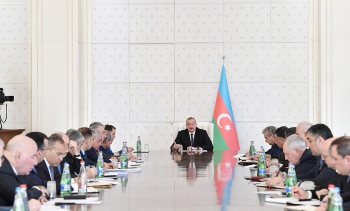 President Ilham Aliyev: Great work has been done to stimulate agriculture