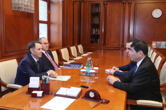 Le Premier ministre azerbaïdjanais a reçu le Secrétaire général de l'OMD
