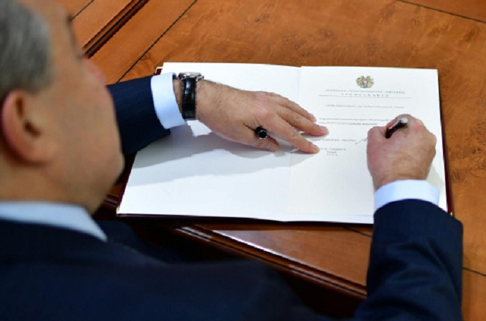 Armenian President appoints Nikol Pashinyan as Armenia