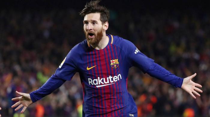 Barcelona star Messi first to score 400 La Liga goals