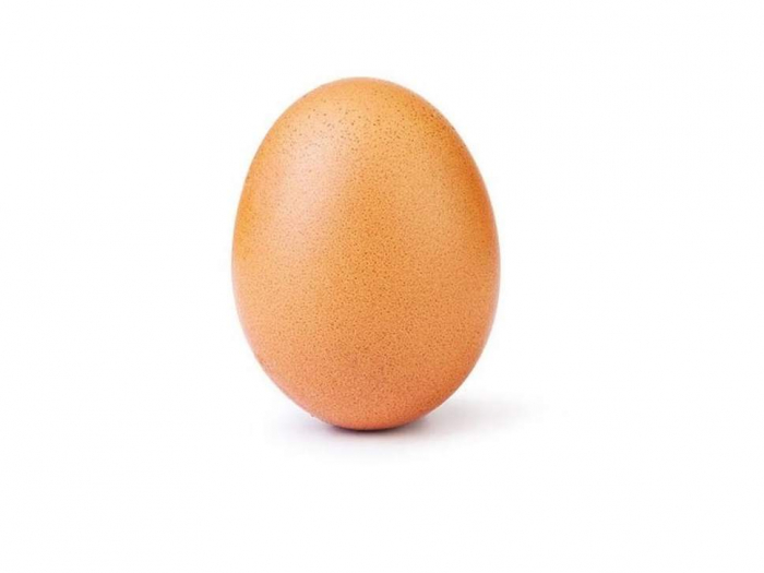 Egg photo on Instagram becomes most-liked post, beating Kylie Jenner