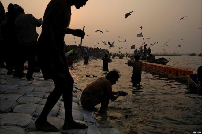 Kumbh Mela: Millions of Indians begin holy dip -   PHOTOS