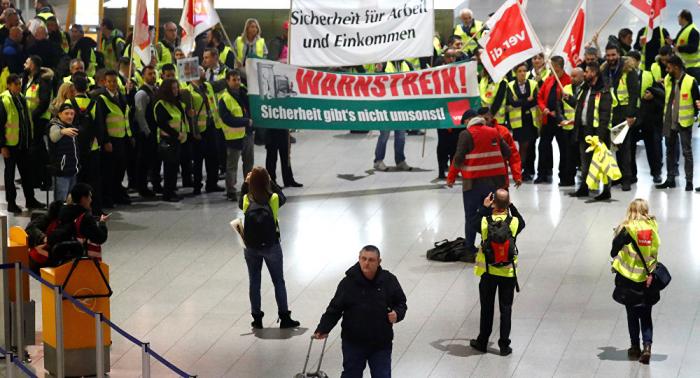 Hunderte Flüge gestrichen: Warnstreiks an deutschen Flughäfen haben begonnen