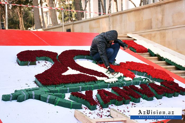 Baku bereitet sich auf den 20. Januar vor -   Fotoreportage