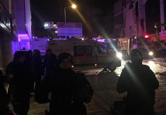 Ankarada fabrik yanıb, 5 suriyalı ölüb