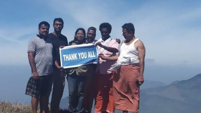 India woman makes historic trek to