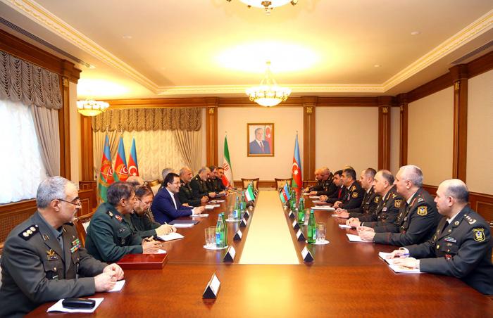 Azerbaijan, Iran discuss prospects for development of military cooperation