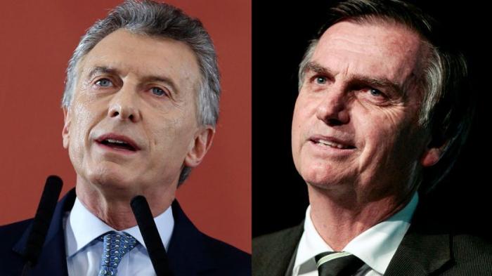 """Bolsonaro y Macri destacan la importancia de """"modernizar"""" el Mercosur"""