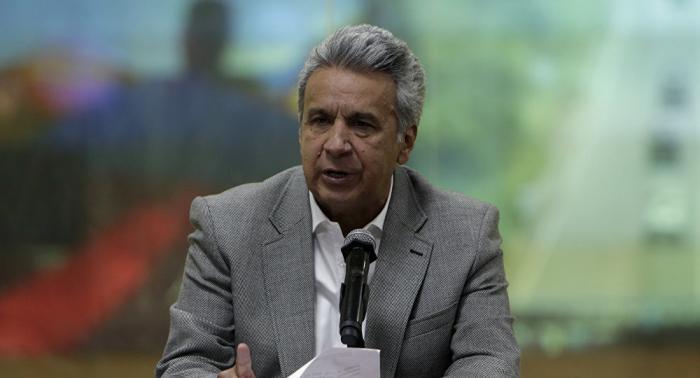 Presidente ecuatoriano refuerza lucha contra la corrupción