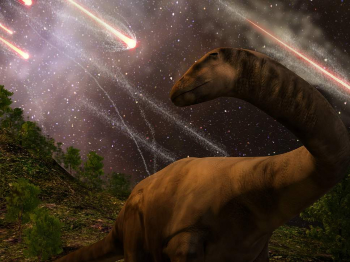 Number of asteroids hitting earth trebles since dinosaur age'