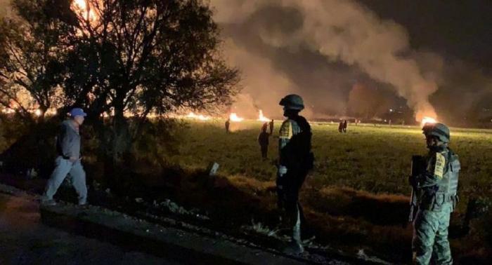 Sofocado el incendio en el ducto en México