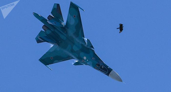 Zwei Piloten nach Kampfjet-Kollision in Russland tot geborgen