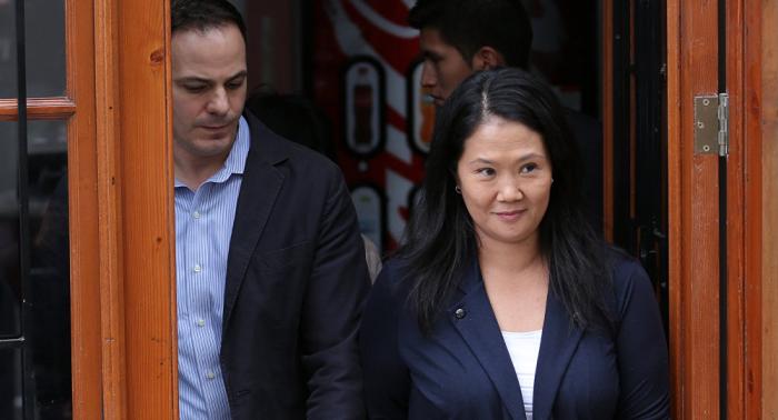 Keiko Fujimori pide que se aparte nueva jueza que verá su caso por lavado de activos
