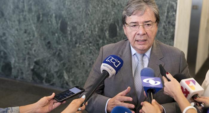 Canciller de Colombia pide a comunidad internacional que repudie atentado en Bogotá