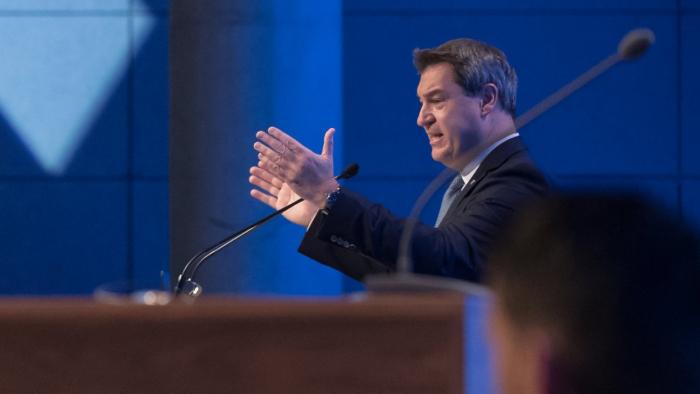 CSU-Parteitag wählt Söder zum neuen Parteichef