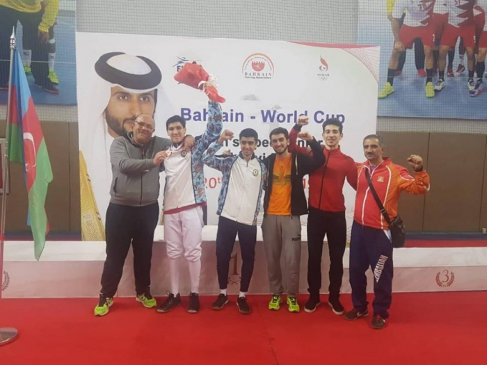 Azerbaijani fencer wins silver in Bahrain