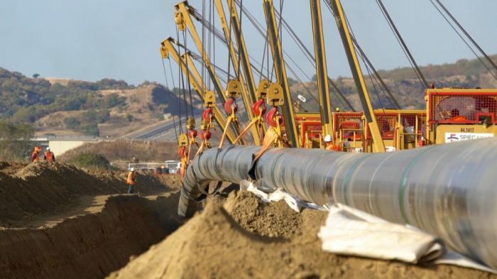 760 Kilometer von Rohren im griechischen und albanischen Abschnitt der TAP-Gaspipeline zusammengeschweißt