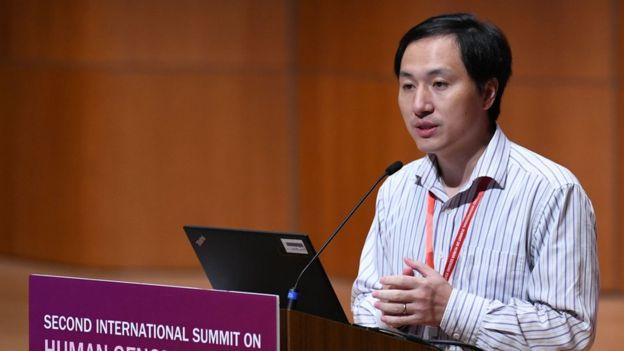 He Jiankui: China condemns