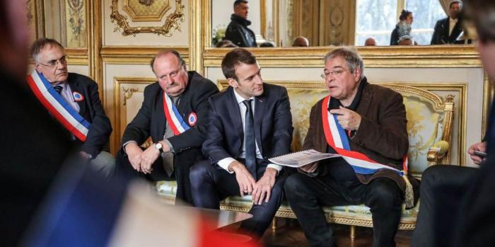 Macron's Great Gamble-  OPINION