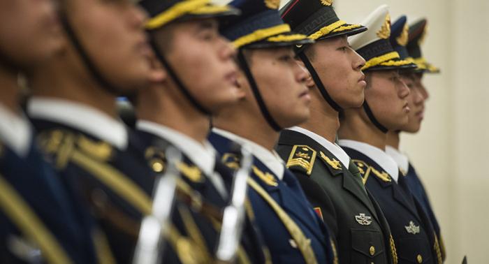China verkleinert seine Bodentruppen auf ein Minimum