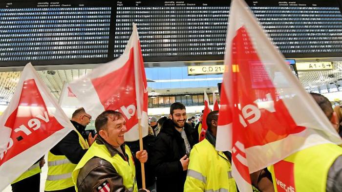 Weitere Flughafenstreiks sind abgewendet