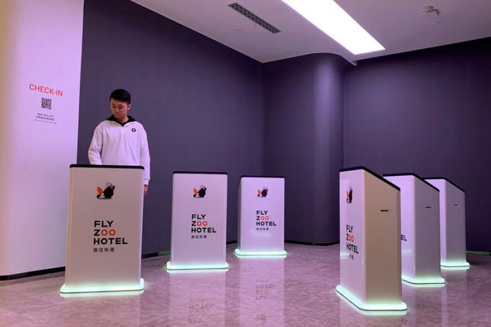 Alibaba testet mit Roboter-Hotel neue Technologien