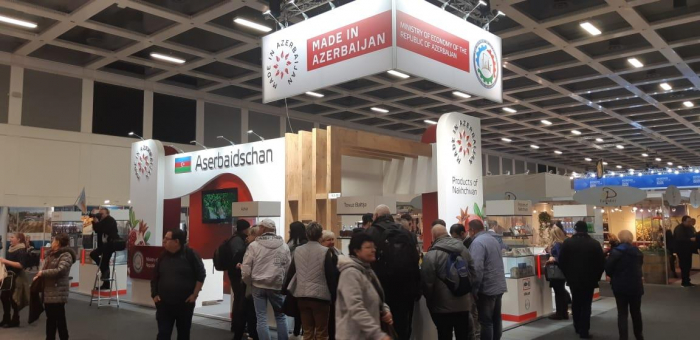 Azerbaijan showcases goods at Berlin International Green Week