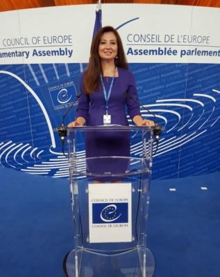 Aserbaidschanische Abgeordnete zur PACE-Vizepräsidentin gewählt