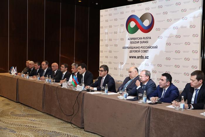Azərbaycan-Rusiya İşgüzar Şurası toplandı