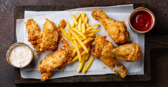 Daily portion of fried chicken can increase risk of early death, study finds