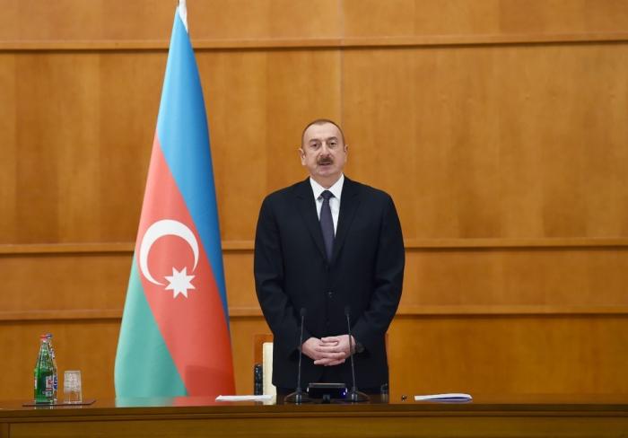 """Prezident: """"Azərbaycan xalqına xidmət etmək mənim üçün böyük şərəfdir"""""""