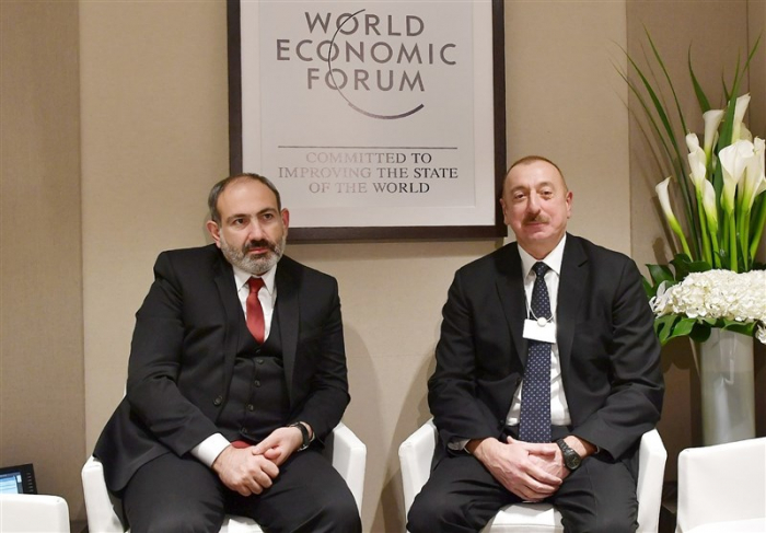 Meeting between Azerbaijan's president, Armenian PM is among 33 major events of Davos 2019