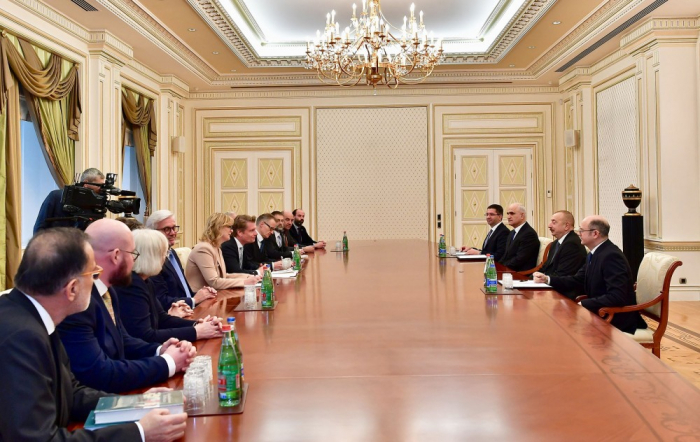 Azerbaijani President receives German energy secretary-UPDATED