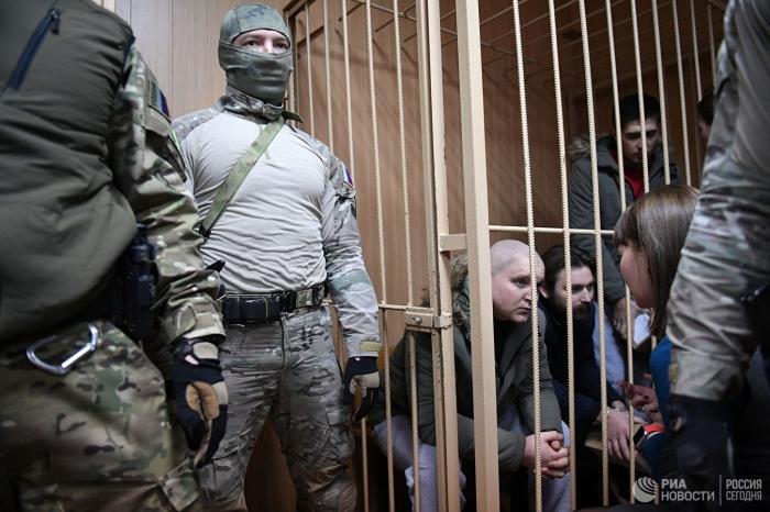 Rusiyada 4 ukraynalının həbs müddəti uzadıldı