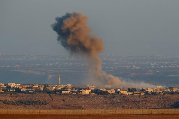 Israël mène des frappes sur des cibles iraniennes en Syrie